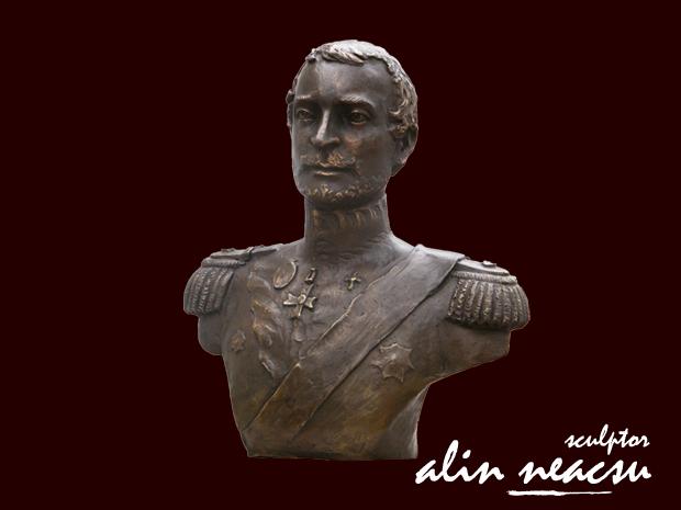 Sculptura in Bronz Alexandru Ghica