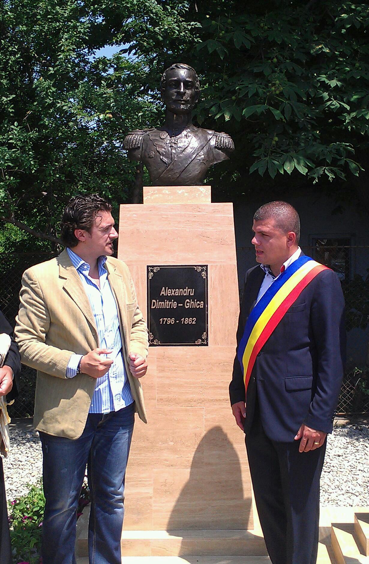 Alexandru Ghica - Sculptura Bronz