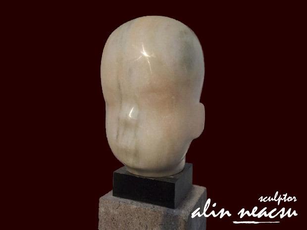 Sculpturi in marmura - Brancusi copil