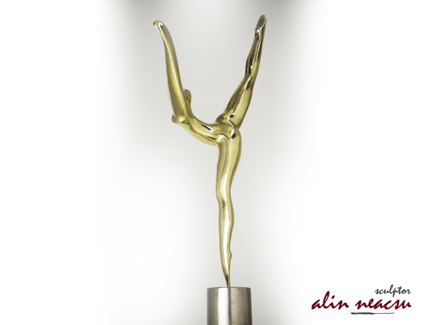 Sculpturi in bronz - Nadia Comaneci