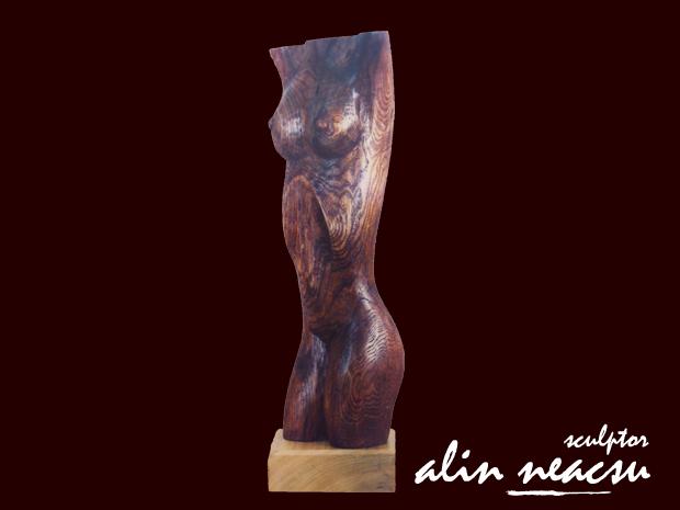 Sculpturi in lemn - Eva
