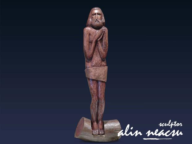 Sculpturi in lemn - Inaltarea