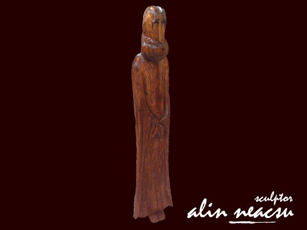 Sculpturi in lemn - Noul Profet