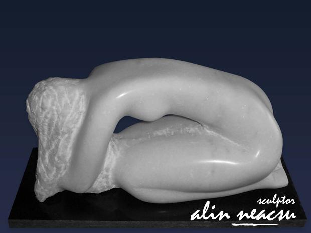 Sculpturi in marmura - Rugaciune